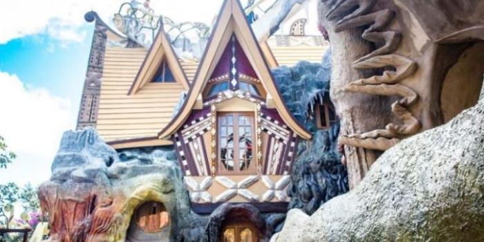 Çılgınlığın sınırlarını zorlayan bir yapı: Crazy House