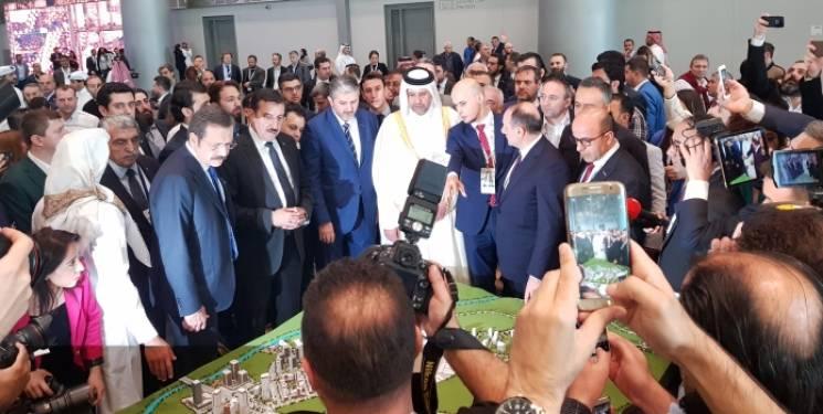 Emlak Konut Katarlı yatırımcıya Kanal İstanbul'u anlatıyor
