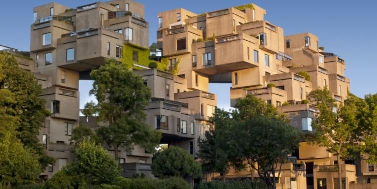 Hırslı mimar Moshe Safdie'nin Habitat 67 projesi