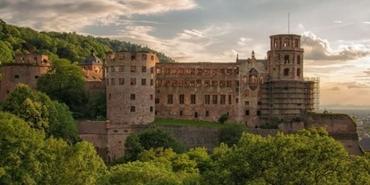 Almanya'nın en popüler turistik yapısı: Heidelberg Kalesi