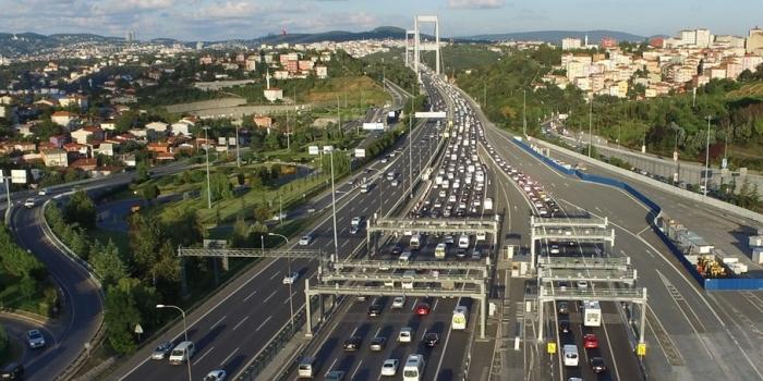 2017'de köprü ve otoyol geliri 1.5 milyar TL'ye dayandı