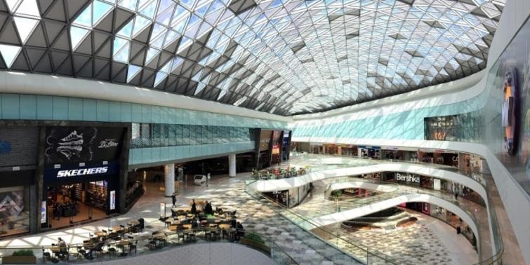Vadistanbul AVM'nin iç mimari tasarımına 3XKO imzası