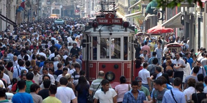 Türkiye nüfusunun  yüzde 92.5'i kentlerde yaşıyor
