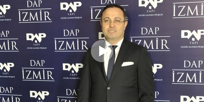 Ziya Yılmaz: 100 konutun 30'unu İzmir'de geliştireceğiz
