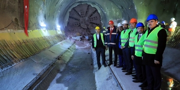 Dudullu-Bostancı Metro tünelleri buluşuyor