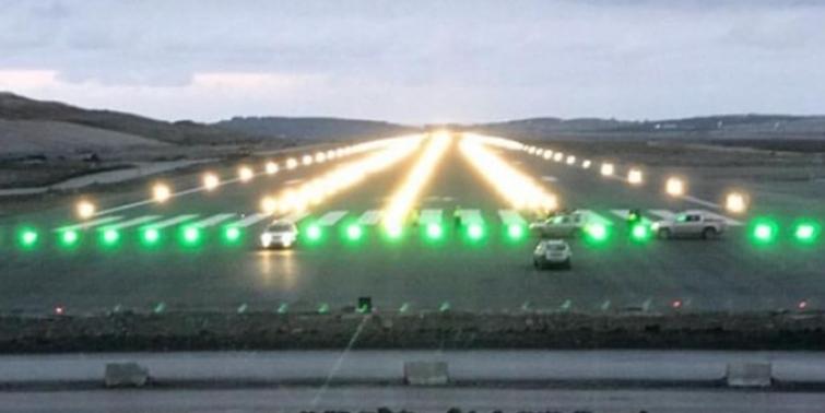 3. Havalimanı'nda ışıklar yandı