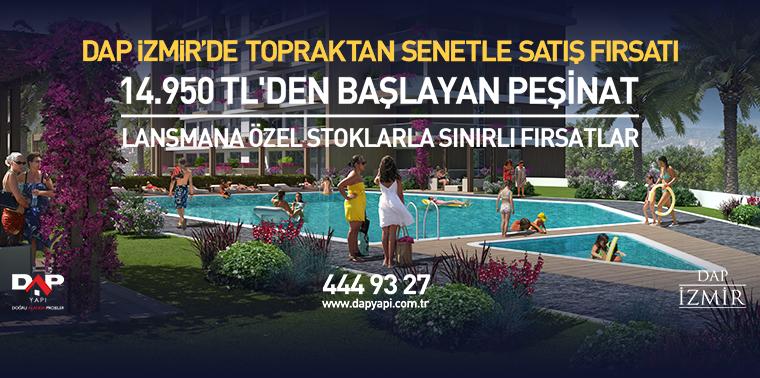 Dap İzmir'de Büyük Lansman Fırsatı!