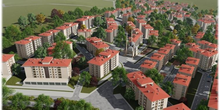TOKİ Denizli'de yeni bir mahalle kuruyor