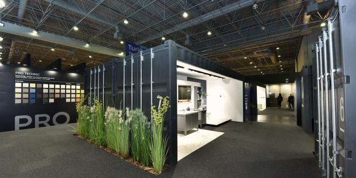 Unicera'da iF ödüllü stant tasarımı