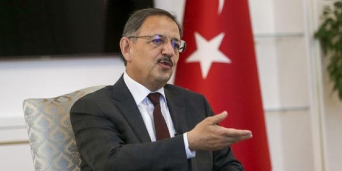 Bakan Özhaseki: Dönüşüm dağları delmek kadar zor