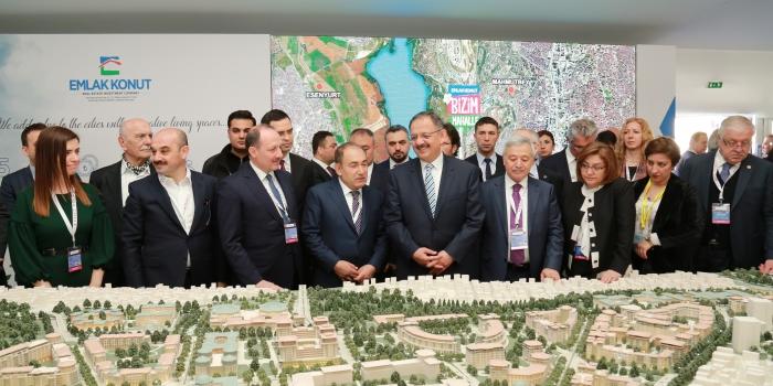 Emlak Konut MIPIM'de Türkiye yatırım fırsatlarını anlattı