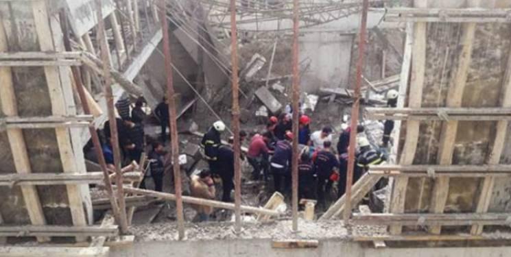 Kahramanmaraş'ta inşaat çöktü: 2 işçi öldü