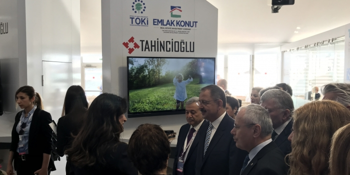 Tahincioğlu MIPIM 2018'de yerini aldı