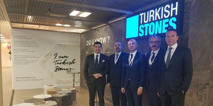 MIPIM'e Türk doğal taşı damga vurdu
