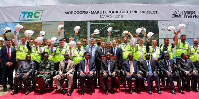 Yapı Merkezi Afrika'nın dev yatırımının temellerini attı