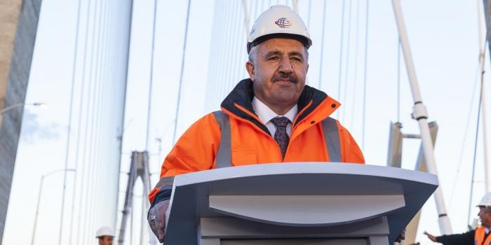 Bakan Arslan açıkladı: Kanal hafriyatı ne olacak?