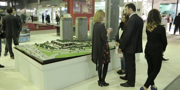 CNR Emlak Fuarı örnek dairelere açılıyor