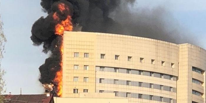 Yanan hastane ile ilgili şok iddia