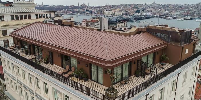 İstanbul'un tarihi yapısı lüks otele dönüştü