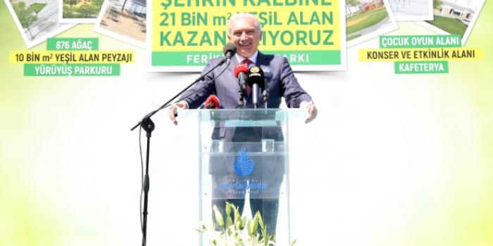 İBB Başkanından 'yeşil şehirler' araştırmasına itiraz