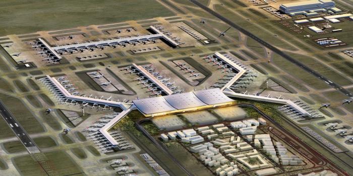 İstanbul Yeni Havalimanı 1,5 Milyon Kişiye İstihdam Sağlayacak