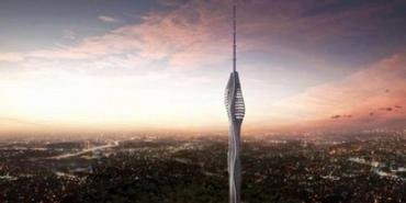 Çamlıca Kulesi Son Durum: Dördüncü parçanın montajı tamam