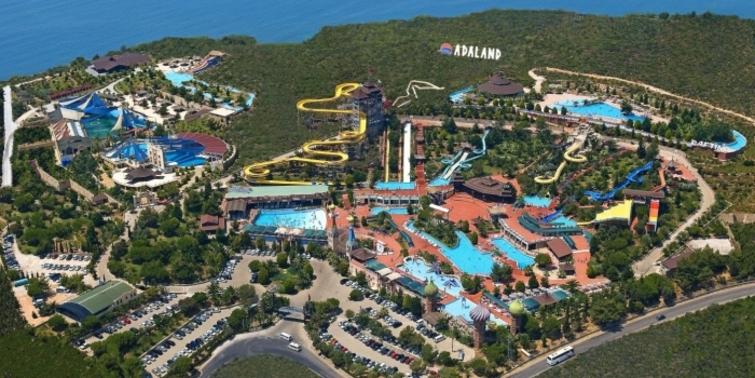 Türkiye'nin en iyi aquaparkları