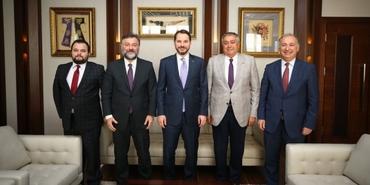 İnşaat sektörü temsilcilerinin Bakan Albayrak'tan acil çözüm talebi