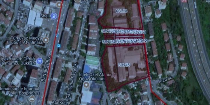 Beşiktaş'taki askeri araziye dev teklif