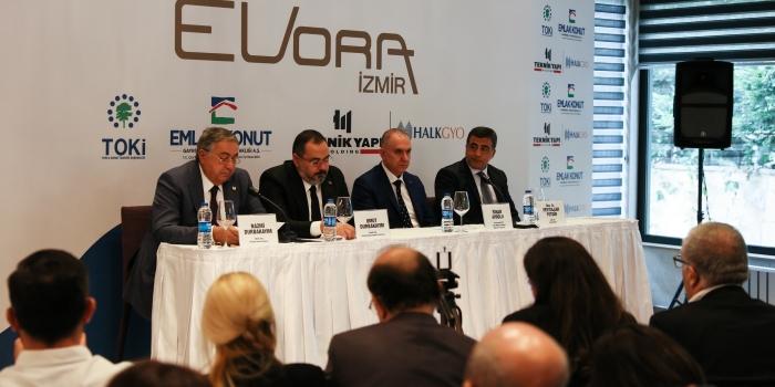 Sektörün devlerini buluşturan Evora İzmir'de ön talep dönemi