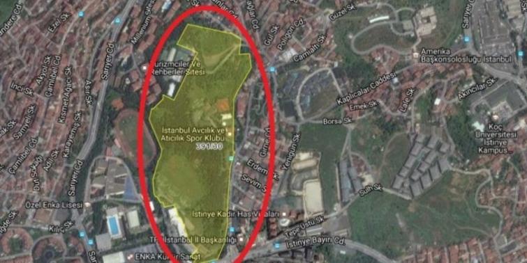 Bakanlık'tan İstinye Spor Hastanesi planlarına itiraz