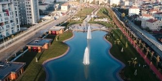 Maltepe'nin dev Cumhuriyet Parkı açıldı