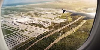 3. Havalimanı'ndan ilk uçak kalktı