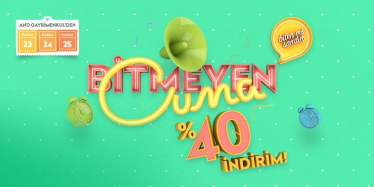 AND Pastel'de Black Friday İndirimi