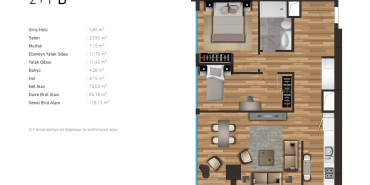 Propa Vista Kartal Kat ve Daire Plan Resimleri-4