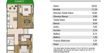 Resim İstanbul Kat ve Daire Plan Resimleri-10