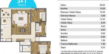 Resim İstanbul Kat ve Daire Plan Resimleri-12