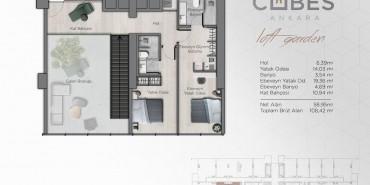 Cubes Ankara Kat ve Daire Plan Resimleri-12