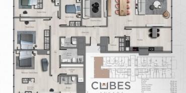 Cubes Ankara Kat ve Daire Plan Resimleri-19
