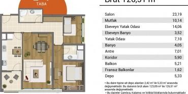 Resim İstanbul Kat ve Daire Plan Resimleri-9