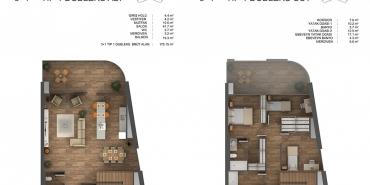 Ons İncek Residence Kat ve Daire Plan Resimleri-3