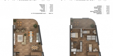 Ons İncek Residence Kat ve Daire Plan Resimleri-6
