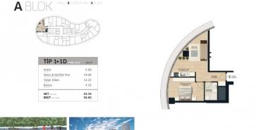Concord İstanbul Kat ve Daire Plan Resimleri-2