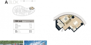 Concord İstanbul Kat ve Daire Plan Resimleri-1