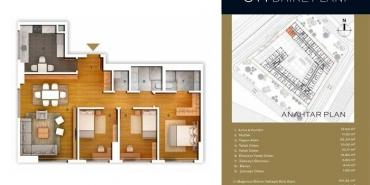 Optimist Residence Kat ve Daire Plan Resimleri-1