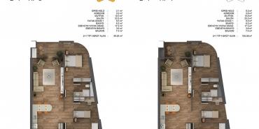 Ons İncek Residence Kat ve Daire Plan Resimleri-2