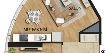 Uplife Kadıköy Kat ve Daire Plan Resimleri-2