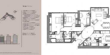 Emaar Square İstanbul Residence Kat ve Daire Plan Resimleri-13