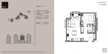 Emaar Square İstanbul Residence Kat ve Daire Plan Resimleri-3