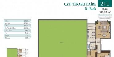 Konakkale Bosphorus Kat ve Daire Plan Resimleri-4